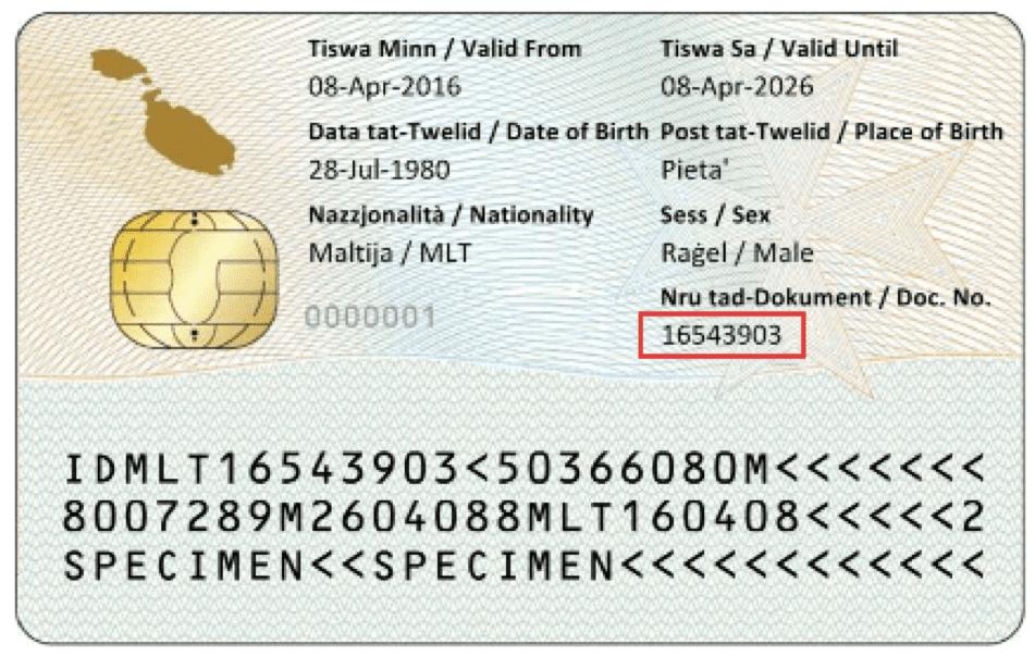 Documente Number